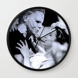 MICHAEL MYERS IN DIRTY DANCING Wall Clock