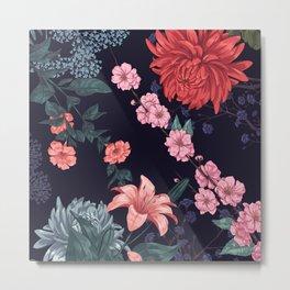 Spring Flowers Metal Print