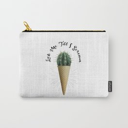 Ice Cream Cactus Lick Me Carry-All Pouch