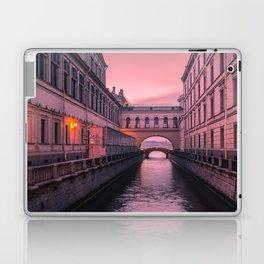 Hermitage Bridge, Saint Petersburg, Russia Laptop & iPad Skin