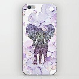 FLOWER SHOWER ELEPHANT iPhone Skin