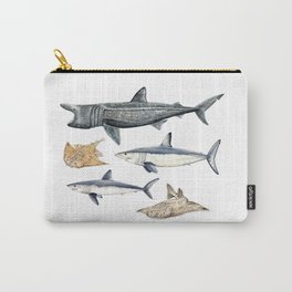 Shark diversity Carry-All Pouch