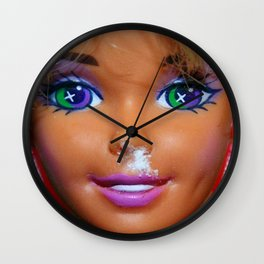 Weekend Mess Wall Clock
