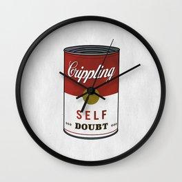Crippling Self Doubt Wall Clock