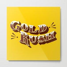 Gold Rush Metal Print