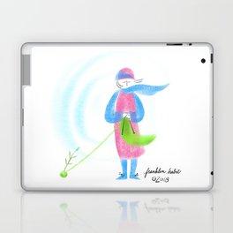 Spring Knitter Laptop & iPad Skin