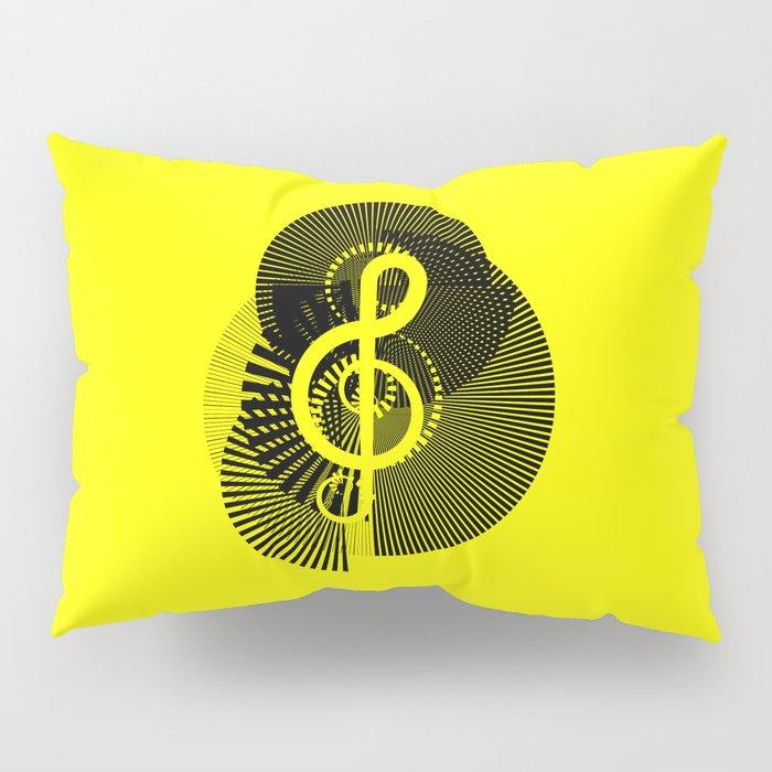 Clef Pillow Sham