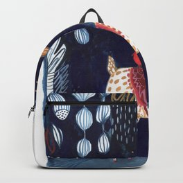 midnight blue vicuna Backpack