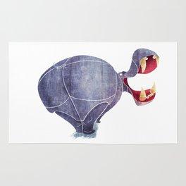 Hippopotamus Rug