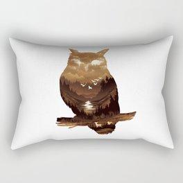 Night Hunter Rectangular Pillow