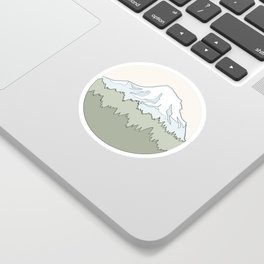Mnt. Rainier Sticker
