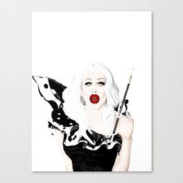 Sharon Needles, RuPaul's Drag Race Queen Canvas Print