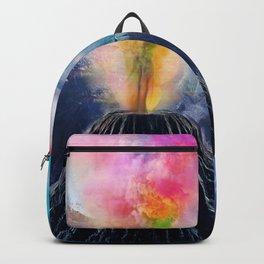 Rainbow Volcano Backpack