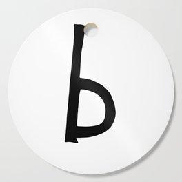 B Monogram (Hand 2) Cutting Board