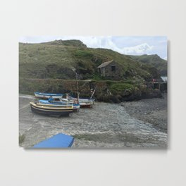 Small Harbour Metal Print