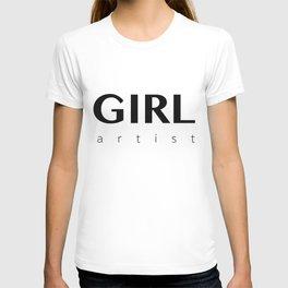 Girl Artist T-shirt