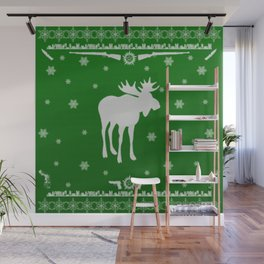 Supernatural Sam Holiday Sweater Wall Mural