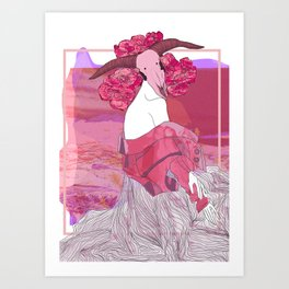 Shark 7.34 Art Print