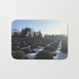 Lavender at Lake Kawagoe Bath Mat