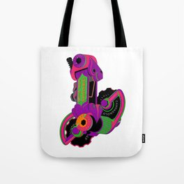 The World's Most Famous 70's Derailleur, One Cool Cat Tote Bag