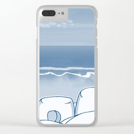 In Paradise Labyrinth Andre Bloc Clear iPhone Case