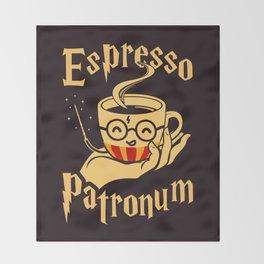 Espresso Patronum Throw Blanket