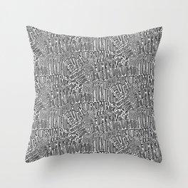F*ck Trump Throw Pillow