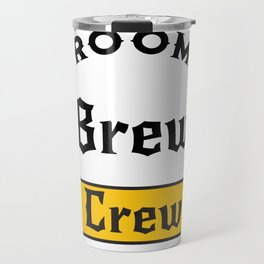 Groom Funny Groom's Brew Crew Travel Mug