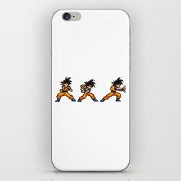 Son Goku 孫 悟空 Kamehameha Bit iPhone Skin
