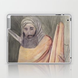 Reproduction of a Section of The Trial By Fire Fresco by Giotto Laptop & iPad Skin