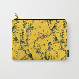 Monkey World Yellow Carry-All Pouch