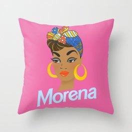 Morena Doll Throw Pillow