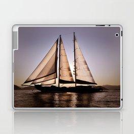 big beautiful sailboat Laptop & iPad Skin