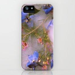 Flowers, Frozen iPhone Case