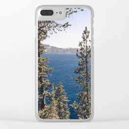 Hidden Lake Love - Nature Photography Clear iPhone Case