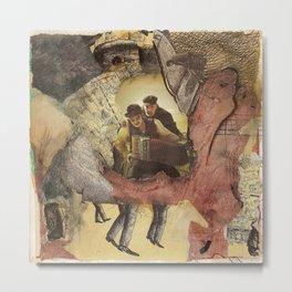 accordian Metal Print
