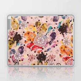 Retro Fleurs Laptop & iPad Skin