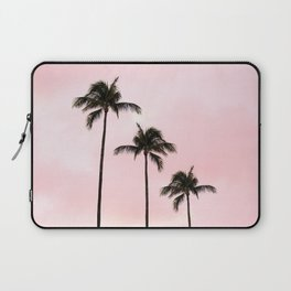 Palm Tree Photography Peach | Blush Pink | Millennial Pink | Miami Laptop Sleeve