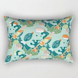 Sushi take-out! Rectangular Pillow