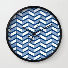 Modern Chevron Wall Clock