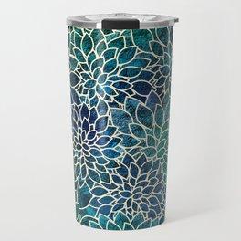 Floral Abstract 4 Travel Mug