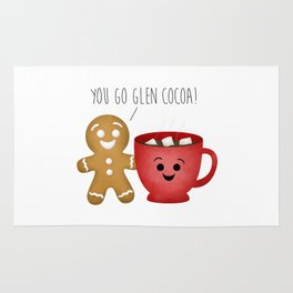 You Go Glen Cocoa! Rug