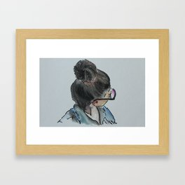 Heather Framed Art Print