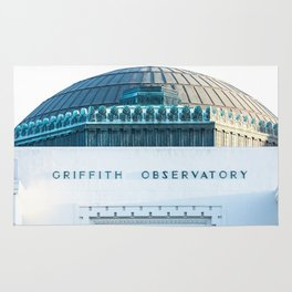 Griffith Observatory Rug