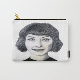 Portrait of Kimbra. Carry-All Pouch