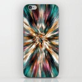 Earth Tones Tie Dye iPhone Skin
