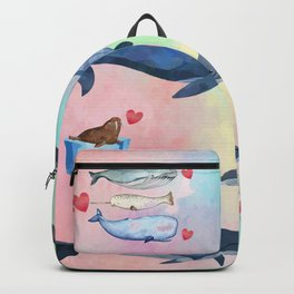 Whaling Around Backpack
