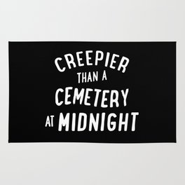 Creepier Than A Cemetery at Midnight Rug