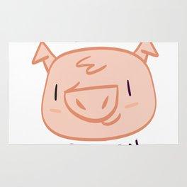 I Love Bacon Rug