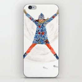 snowangel iPhone Skin